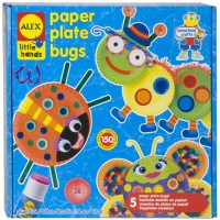 Early Learning Paper Plate Bugs