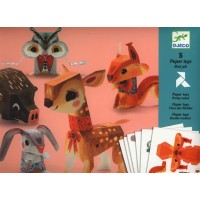 Folded Paper Toy Animals