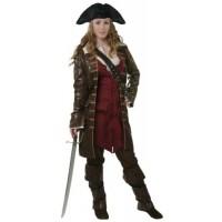 Women's Caribbean Pirate Costume