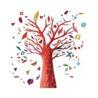 Poetic Tree Wall Decal
