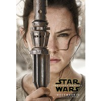 The Force Awakens Rey Movie Poster