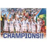 US Women's National Soccer Team Poster 2015