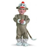 Infant/Toddler Sock Monkey Costume