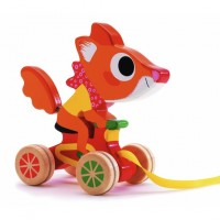 Squirrel Racer Pull Toy