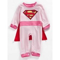 Supergirl Romper With Cape