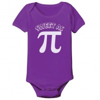 Sweet As Pi Onesie