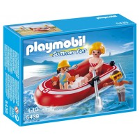 Playmobil Swimmers with Raft