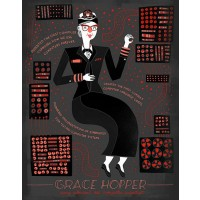 Women in Science - Grace Hopper Poster