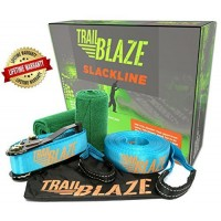 Slackline Kit with Tree Protectors