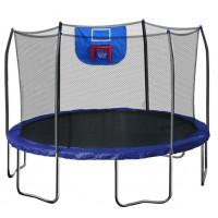 12-Feet Jump N' Dunk Trampoline