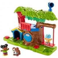Little People Swing and Share Treehouse Playset