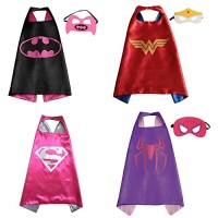 Superhero Cape and Mask - Set of 4