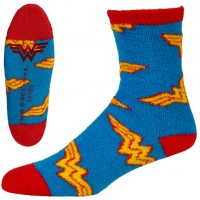 Wonder Woman Slipper Socks