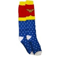 Wonder Woman Logo Knee Socks