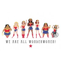 We Are All Wonder Women Print