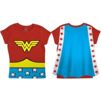 Wonder Woman Caped Children's T-Shirt