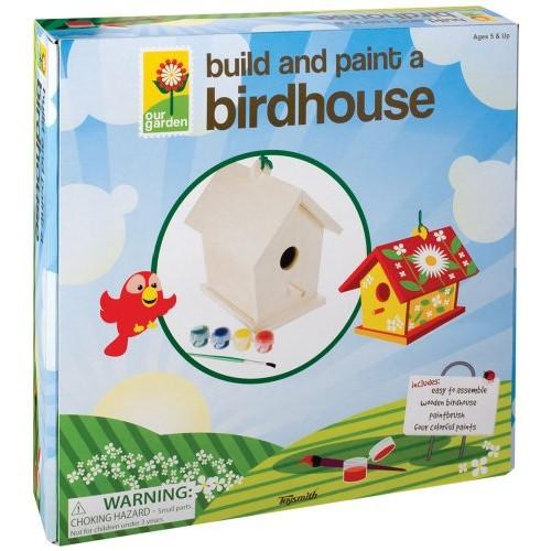 Build and Paint a Bird House