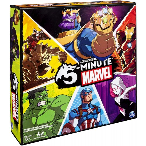 5-Minute Marvel: A Cooperative Card Game