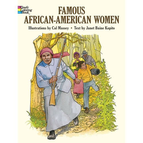 Famous African American Women Coloring Book