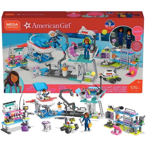Mega Construx American Girl: Luciana's Space Camp Building Kit