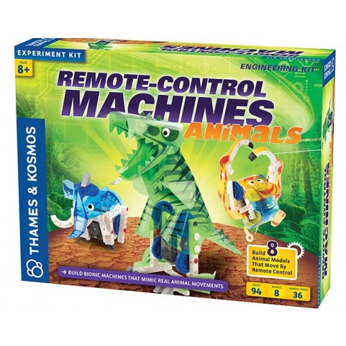 Remote Control Machines: Animals Science Kit