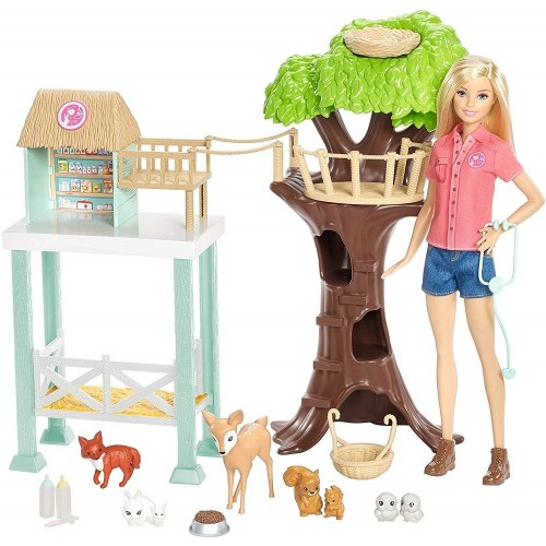 Animal Rescuer Doll and Playset