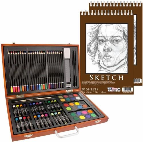 82-Piece Deluxe Art Creativity Set