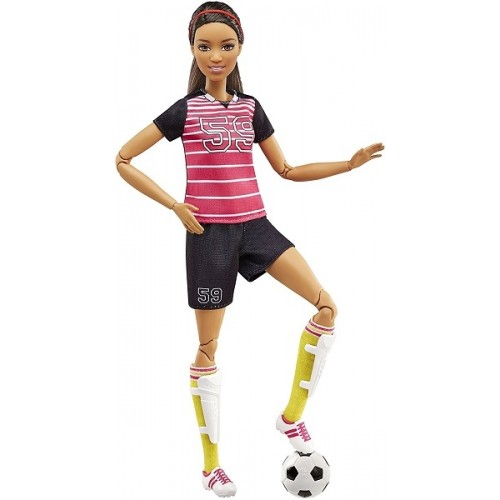 Made to Move Soccer Doll