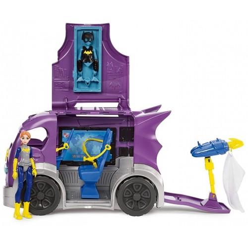 DC Super Hero Girls Batgirl and Vehicle Playset