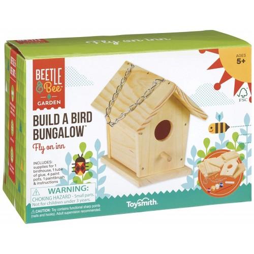 Build and Paint Build A Bird Bungalow