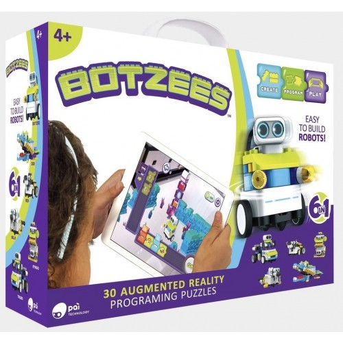 Botzees Augmented Reality Building & Coding Kit