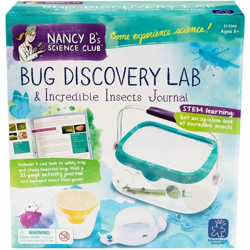 Nancy B.'s Science Club Bug Discovery Lab and Incredible Insects Journal