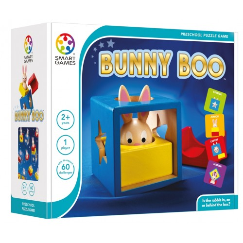 Bunny Peek a Boo Logic Game