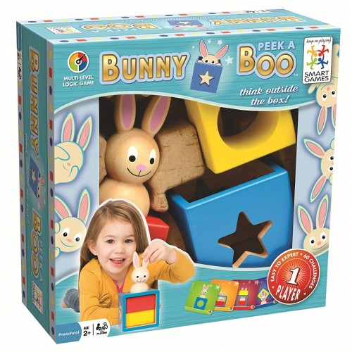 Bunny Peek a Boo Logic Game