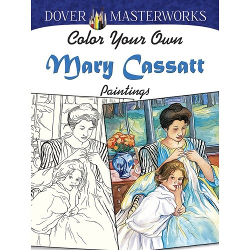 Color Your Own Mary Cassatt