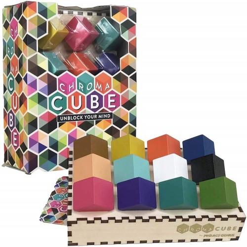 Chroma Cube Logic Game