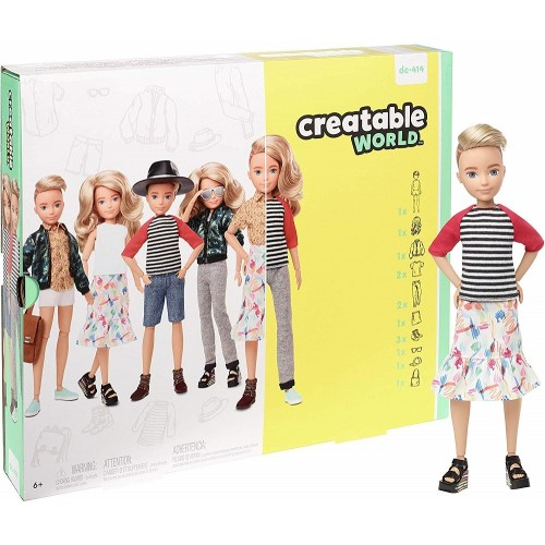 Creatable World Customizable Doll