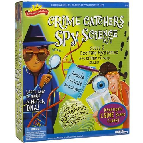 Crime Catchers Spy Science Kit