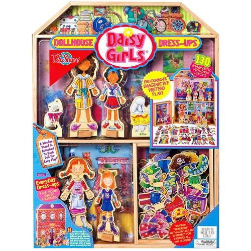 Daisy Girls Dollhouse & Dress-Ups