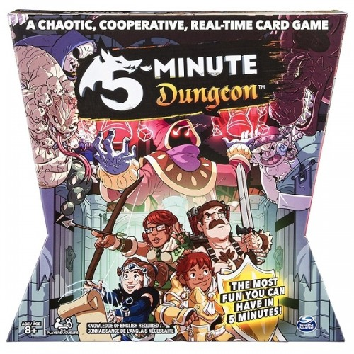 5-Minute Dungeon: A Cooperative Card Game