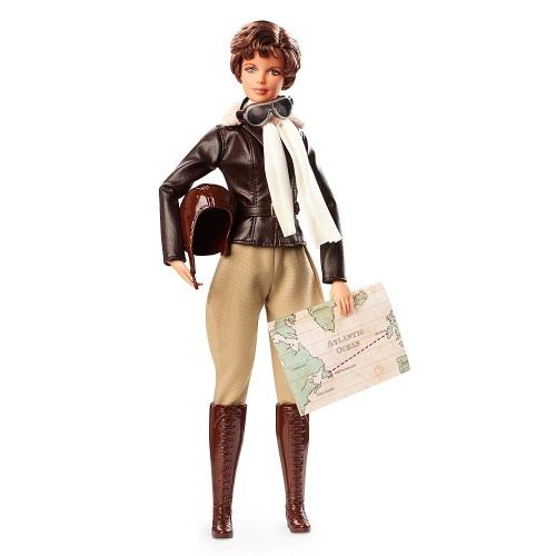 Amelia Earhart Inspiring Women Doll