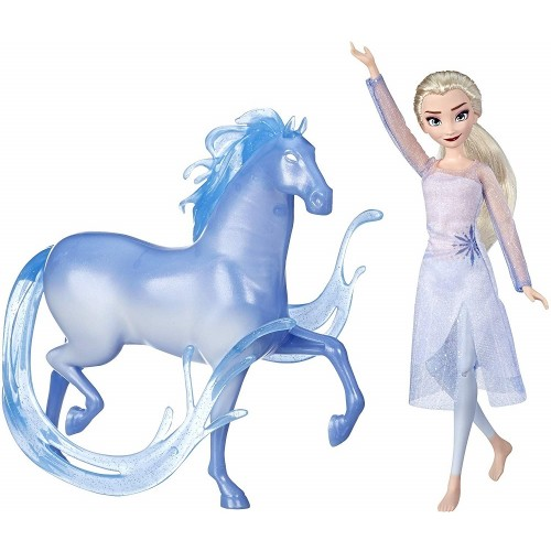 Elsa Doll and Nokk Figure
