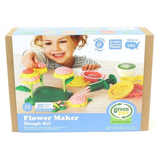 Green Toys Flower Maker Dough Set