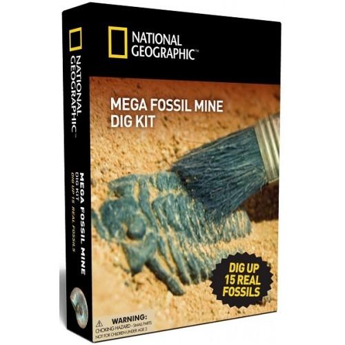 Mega Fossil Mine Dig Kit