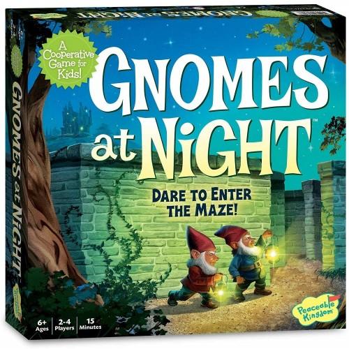 Gnomes at Night Cooperative Board Game