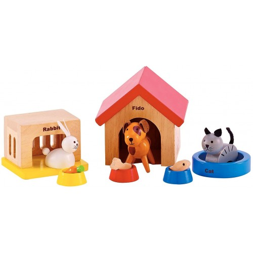 Family Pets Doll House Animals