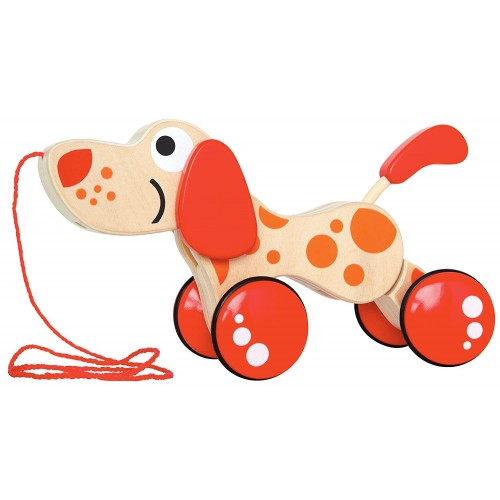 Walk-A-Long Puppy Pull Toy