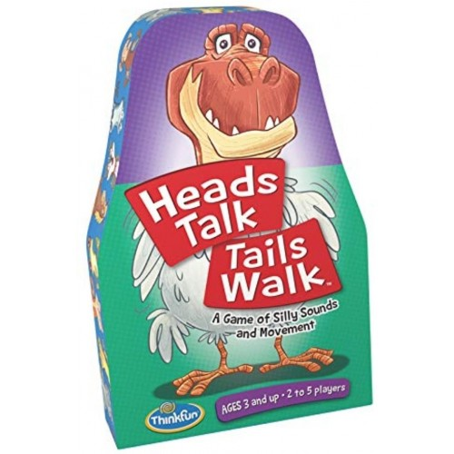 Heads Talk Tails Walk: A Silly Game of Sound and Movement
