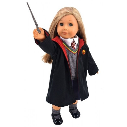 """Hermione Granger Clothes for 18"""" Doll"""