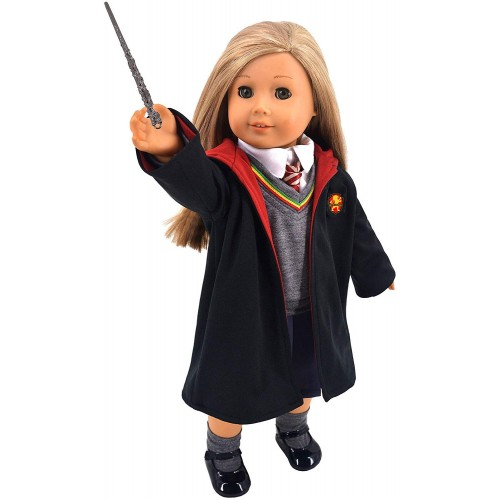 "Hermione Granger Clothes for 18"" Doll"